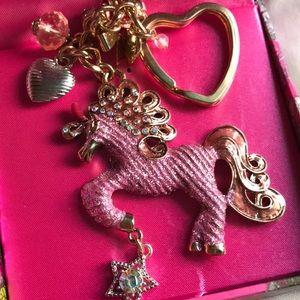 🦄 Glitter Unicorn Key Chain